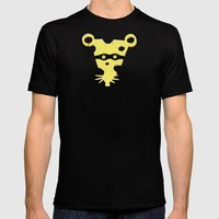 Cheese Burglar Mens Fitted Tee Black SMALL