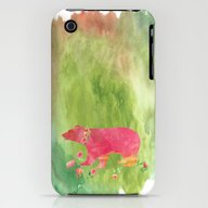 Baer  With Flowers I iPhone (3g, 3gs) Slim Case