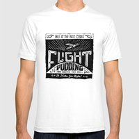 Flight Mens Fitted Tee White SMALL