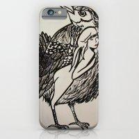 iPhone & iPod Case featuring Bird by Ming Myaskovsky