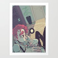 Short Term Memory Loss Art Print