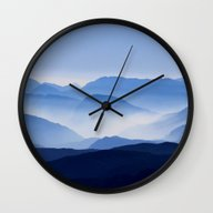 Mountain Shades Wall Clock