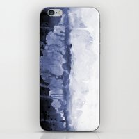 Paint 5 abstract water ocean arctic iceberg nature ocean sea abstract art drip waterfall minimal  iPhone & iPod Skin
