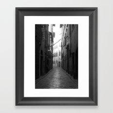 Walk With Me Framed Art Print