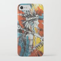indian iPhone & iPod Cases featuring Indian by ketizoloto