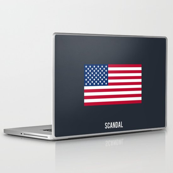 Scandal - Minimalist Laptop & iPad Skin