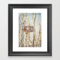 Fisherman's Delight Framed Art Print