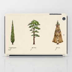 Fur Tree iPad Case