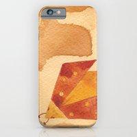 iPhone & iPod Case featuring Ladybird Origami 1 by eefak