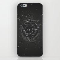 Mysterious moon iPhone & iPod Skin