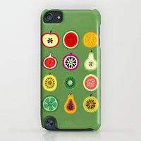iPod Touch Cases featuring Banca de Frutas by Marcelo Romero