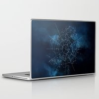 map Laptop & iPad Skins featuring Celestial Map by Rose's Creation