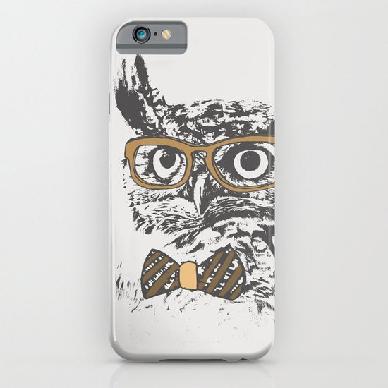 Hipsters are a Hoot iPhone & iPod Case