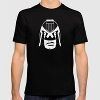 DREDD! Mens Fitted Tee Black SMALL