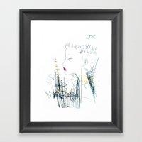 Mohawk Fantasy Framed Art Print