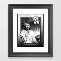 TRUTH Framed Art Print