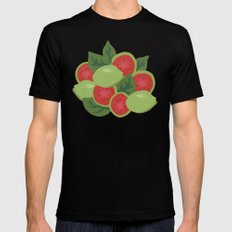 Guava Mens Fitted Tee Black SMALL