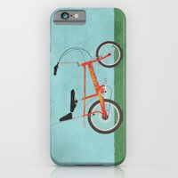 iPhone & iPod Case featuring Chopper Bike by Wyatt Design