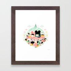 Aubade Framed Art Print