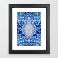Crystal Kaleidoscope Framed Art Print