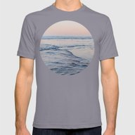 Pacific Dreaming Mens Fitted Tee Slate SMALL