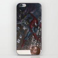 Spiderman vs Goblin iPhone & iPod Skin