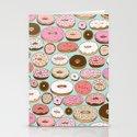 Donut Wonderland Stationery Cards