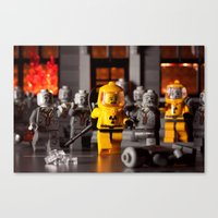 Outbreak Canvas Print