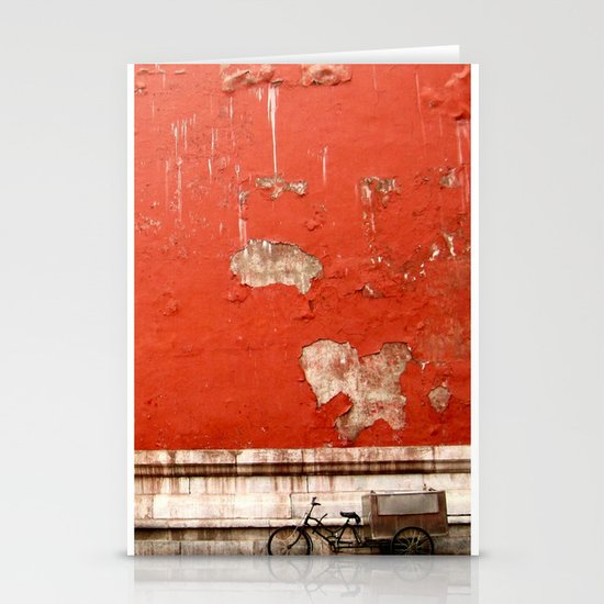 The Abandoned Bicycle Stationery Card