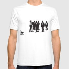 Reservoir Dogs Mens Fitted Tee White SMALL