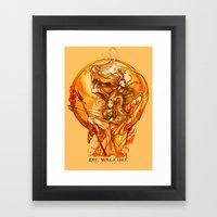 DIE WALKURE - WAGNER - OPERA Framed Art Print