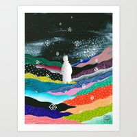 Full Of Thoughts Art Print