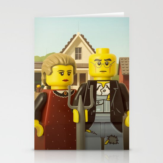 American Gothic Stationery Card
