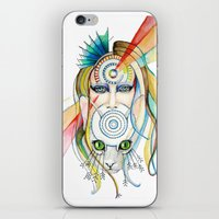 Vision And Silence iPhone & iPod Skin