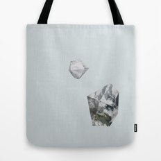 Alaska from above Tote Bag