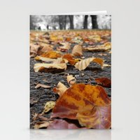 Autumn Paths Stationery Cards