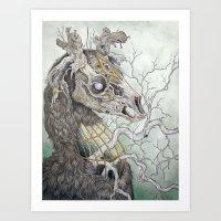 Forgotten Haunts, As A P… Art Print