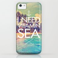 I Need Vitamin Sea iPhone 5c Slim Case
