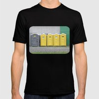 Odd Man Outhouse Mens Fitted Tee Black SMALL