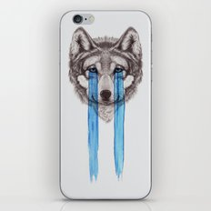 Don't Cry Wolf iPhone & iPod Skin