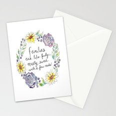 Families Are Like Fudge, Mostly Sweet With A Few Nuts Stationery Cards
