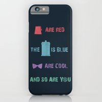 iPhone & iPod Case featuring Doctor Who by sally  diamonds