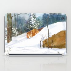 Which Way Did He Go? iPad Case