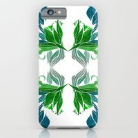 iPhone & iPod Case featuring Art Nouveau Pattern  by pindaa