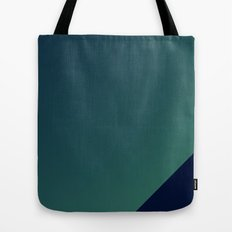 3D green wallart Tote Bag
