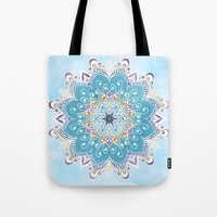 MAGIC FLOWER MANDALA Tote Bag