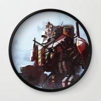 Mech walker Wall Clock