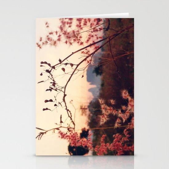 Desert Sakura Stationery Card