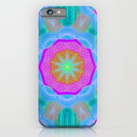 iPhone & iPod Case featuring WOWPOWER Mandala by Pink grapes