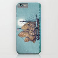vintage iPhone & iPod Cases featuring Winged Odyssey by Terry Fan